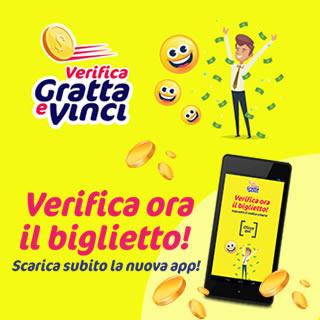 App Verifica Vincite Gratta e Vinci